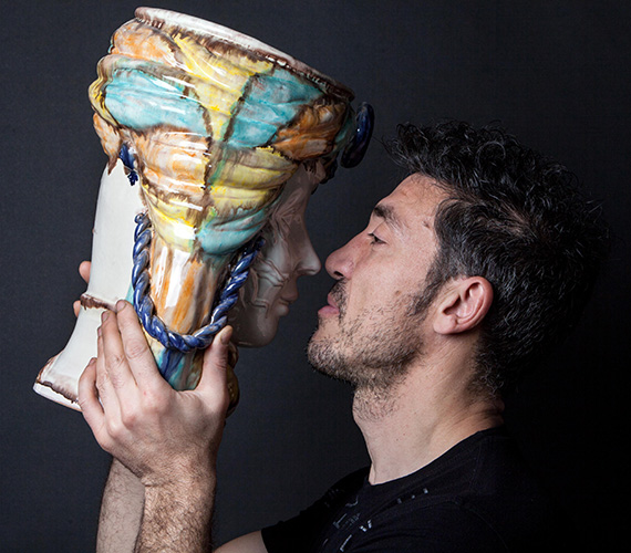 MAM 2018 aNicolò Morales per la categoria  Ceramica