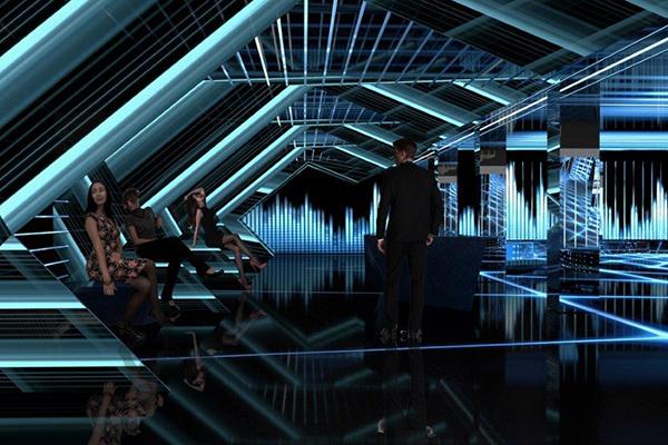 <em>The Néos</em> di Sharon Foglietta: progetto di riconversione del Teatro Manzoni (Milano) - Nuova sede e spazio multifunzionale per il marchio Versace