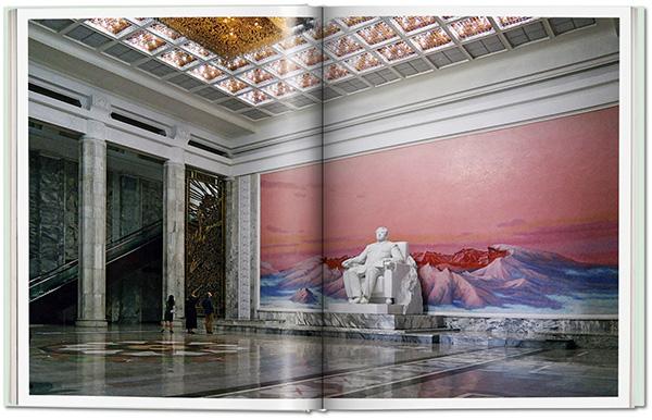 "La biblioteca ""Grand People's Study House"" di Pyongyang"
