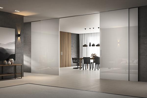 Da FerreroLegno la porta silenziosa - Casa & Design