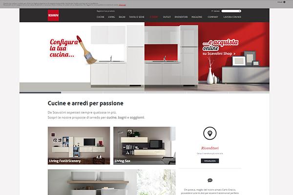Scavolini Shop si aggiudica il Netcomm Award - Casa & Design