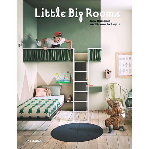 La cover del libro edito da Gestalten <em>Little Big Rooms</em>