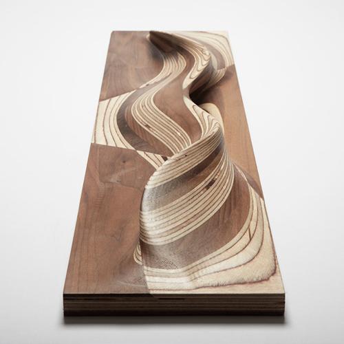 Prototipo della maniglia Door handle dello studio Piercy&Company Architects