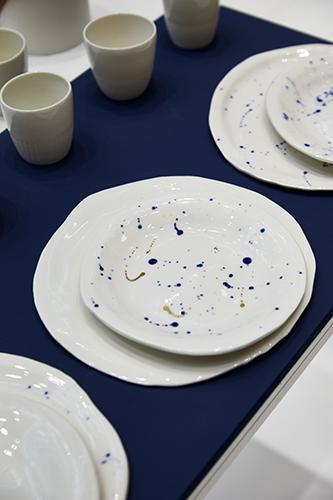 Nel settore Craft dell'area Maison un allestimento di Nathalie Taler