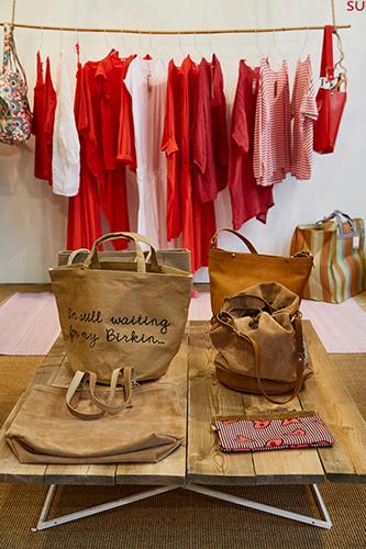 Nel settore Fashion Accessories dell'area Objet un allestimento di Sud