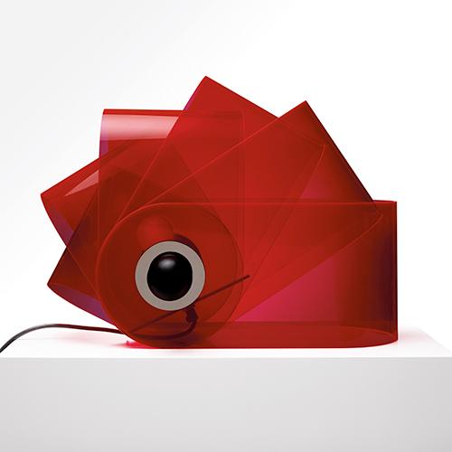 Gherpe, lampada da tavolo, design by Superstudio, 1968