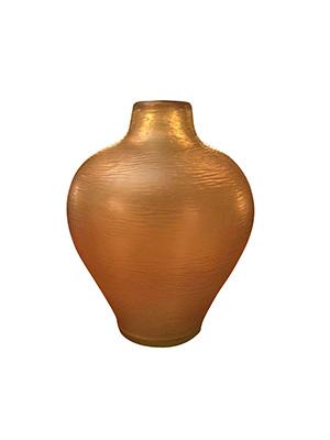 Vaso in vetro battuto di Carlo Scarpa (foto Archivio Fai, Fondo ambiente italiano)