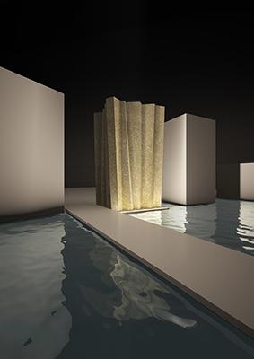 Pietra e Acqua è la torre progettata A.c.M.e. studio per Grassi Pietre