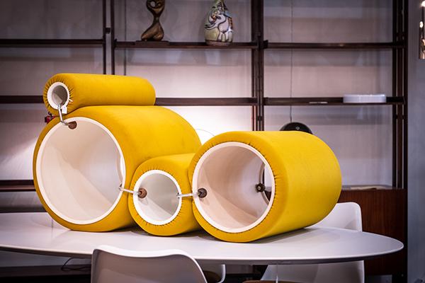 Il divano Tube Chair di Joe Colombo