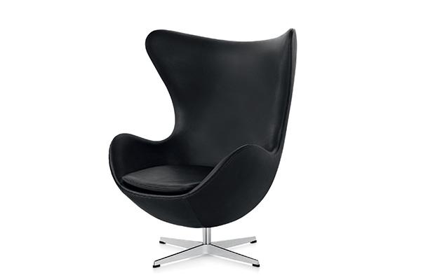 Arne Jacobsen, No. 3317 / The Egg-Chair (© Vitra Design Museum, photo: Jürgen HANS www.objektfotograf.ch)