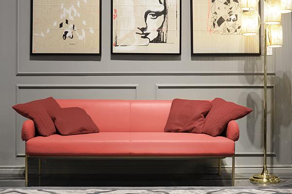 Il divano Ginevra di Formitalia