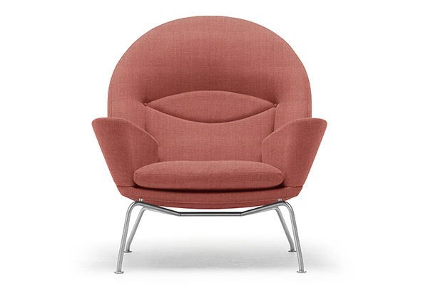 La poltrona CH468 Oculus Chair di Carl Hansen & Søn