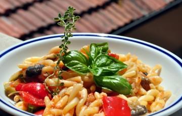 Fusilli alla mediterranea senza glutine