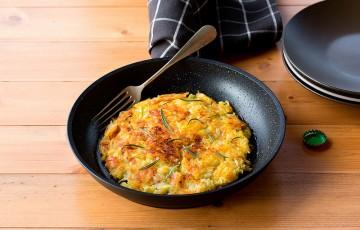 rösti di patate con porri e rosmarino - ricette marianna franchi ... - Come Cucinare I Porri In Padella
