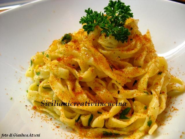 Pasta con bottarga e limone - ricette sicilianicreativiincucina - D ...