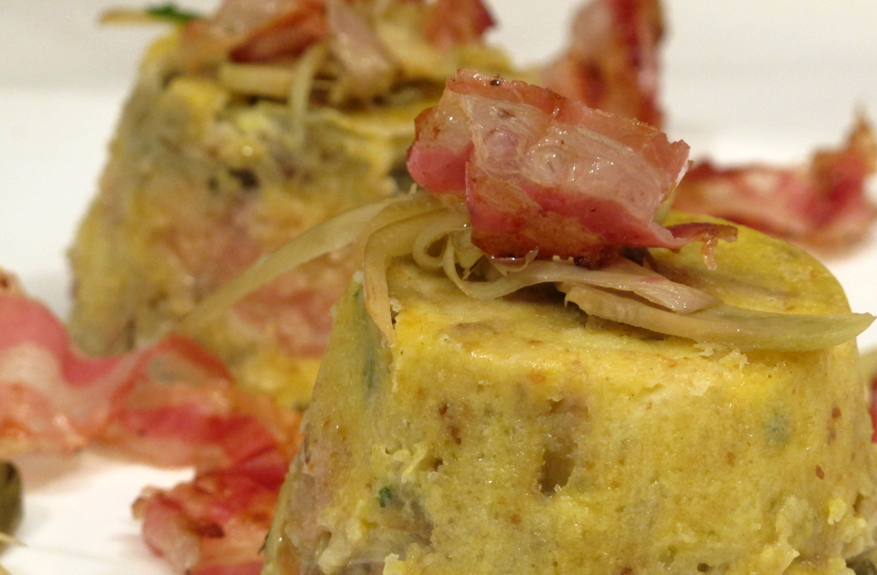 Tortino carciofi patate e pancetta ricette rita tersilla d - Antipasti cucina romana ...