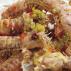 Cannocchie alla marinara con peperoni a dadini