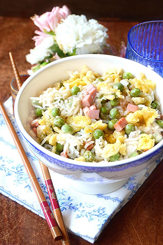 Riso alla cantonese ricette imma di domenico d for Piatti cinesi piu mangiati