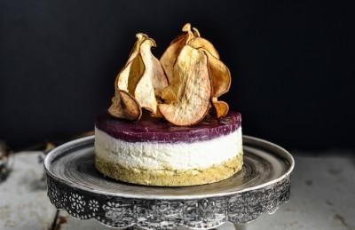 Cheese cake salato al gorgonzola