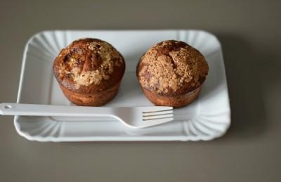 La colazione: Muffins alla banana