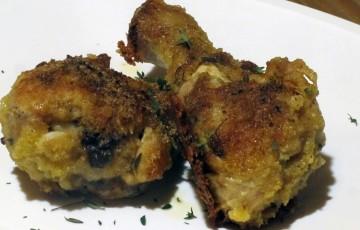 Cosce di pollo in crosta aromatica
