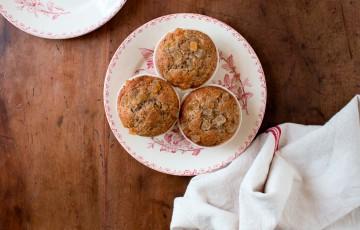 Muffins al grano saraceno