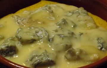 Polenta al forno al formaggio