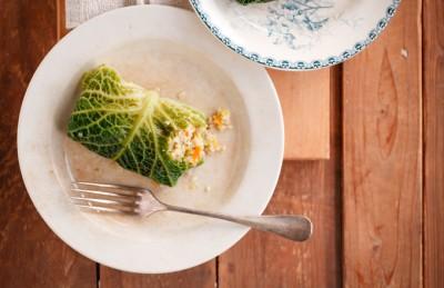 Involtini di quinoa e verdure