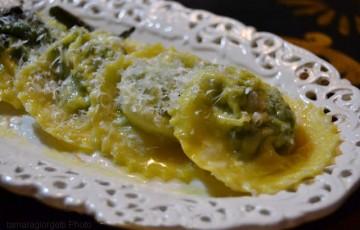 Tortelli maremmani ricotta e spinaci #unpiattoD