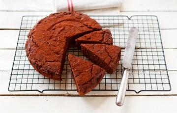 Torta di melanzane, cioccolato e vaniglia