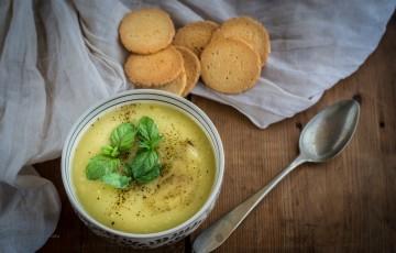 Crema fredda di cetrioli e patate