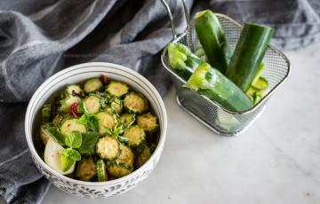 Zucchine allo scapece, un condimento speciale