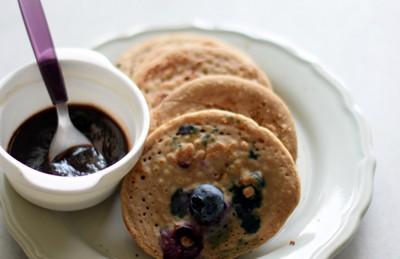 Pancakes ai mirtilli