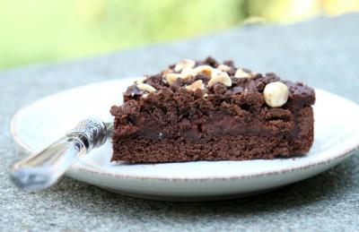 Crostata cioccolato e nocciole