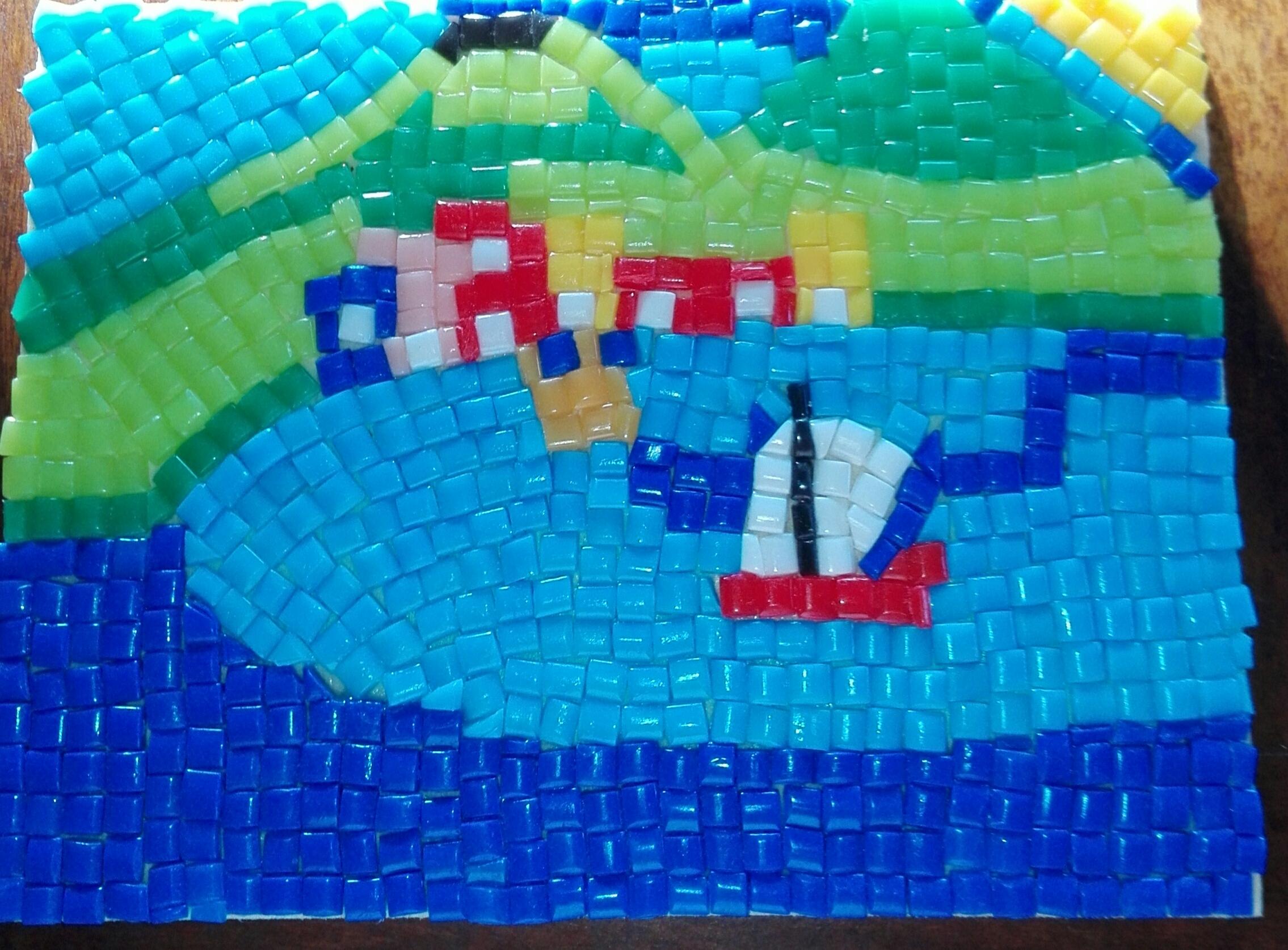 Eccezionale Mosaico del golfo di Napoli | Il Mio Disegno - Repubblica@SCUOLA  GT41