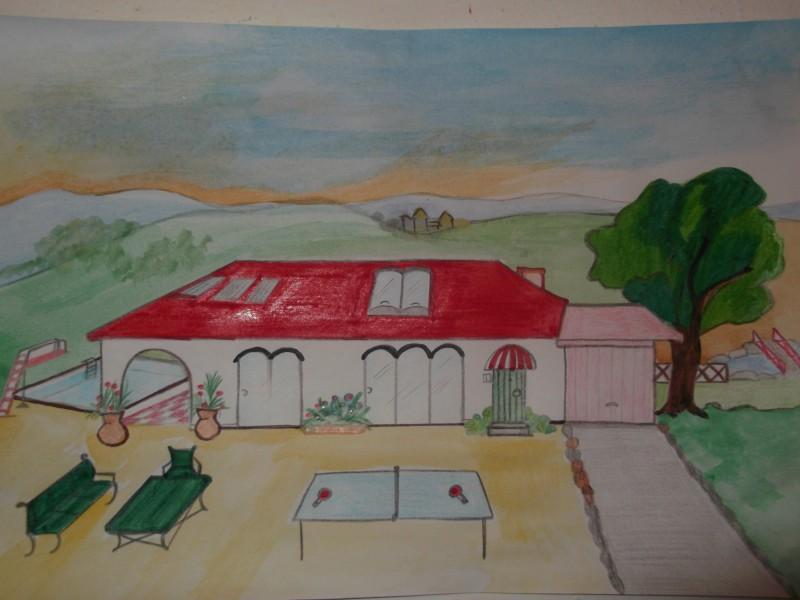 La mia casa dei sogni con tant il mio disegno for Progetti di casa dei sogni