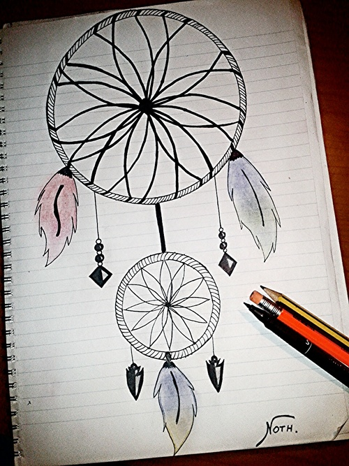 It s the possibility of havi il mio disegno for Acchiappasogni disegno