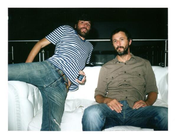 Bugo e Andrea Caccia, foto di Fabio Valente