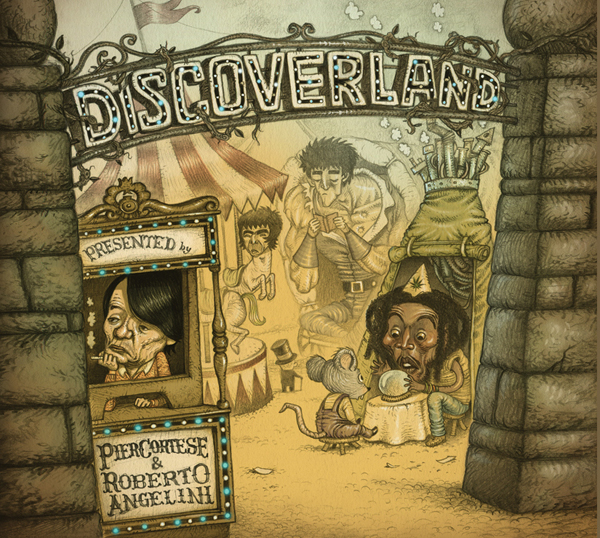 Discoverland cover album