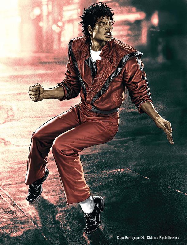 © Lee Bermejo – Il disegnatore della Marvel e DC Comics reintrepreta in esclusiva per XL Michael Jackson