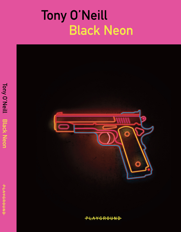 copertina black neon