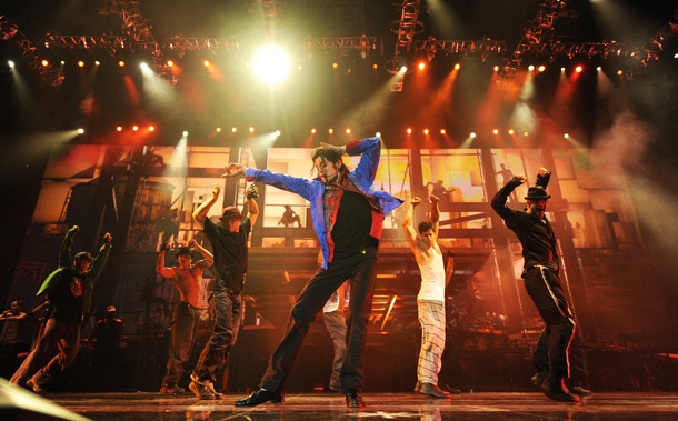 """Michael Jackson in """"This Is It."""""""