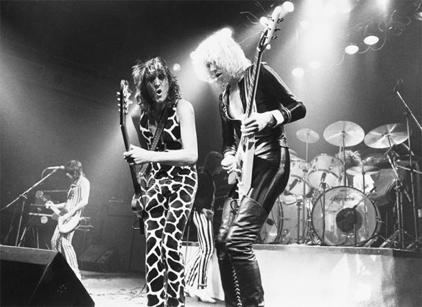 La band degli Ufo 1977