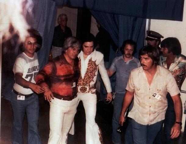 Al Strada,Ed Parker,Dr nick,Elvis,Billy Smith,Sonny West
