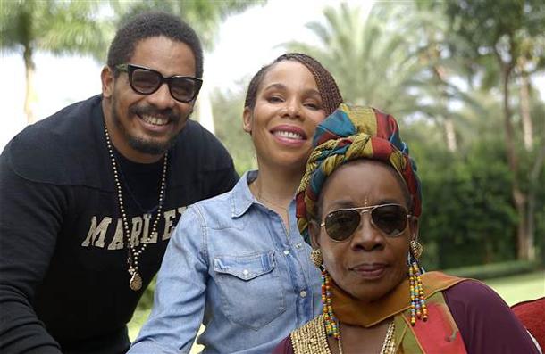 Rohan, Cedella e Rita Marley