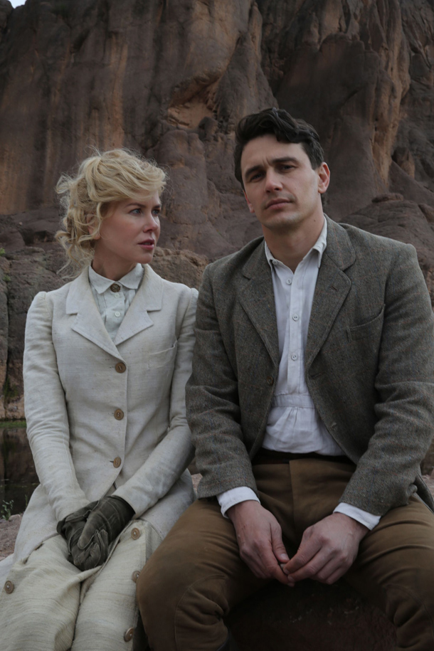"""Queen of the Desert"" di Werner Herzog. In foto Nicole Kidman e James Franco"