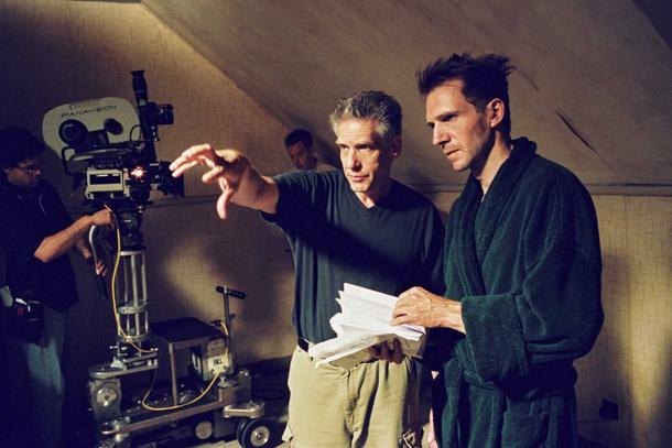 David Cronenberg e Ralph Fiennes