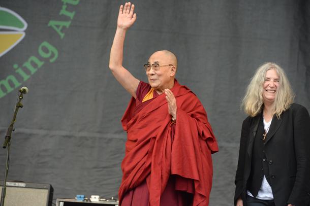 Dalai Lama e Patti Smith