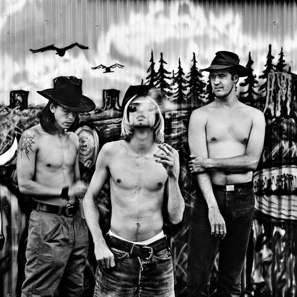 Nirvana, Seattle 1993 © Anton Corbijn