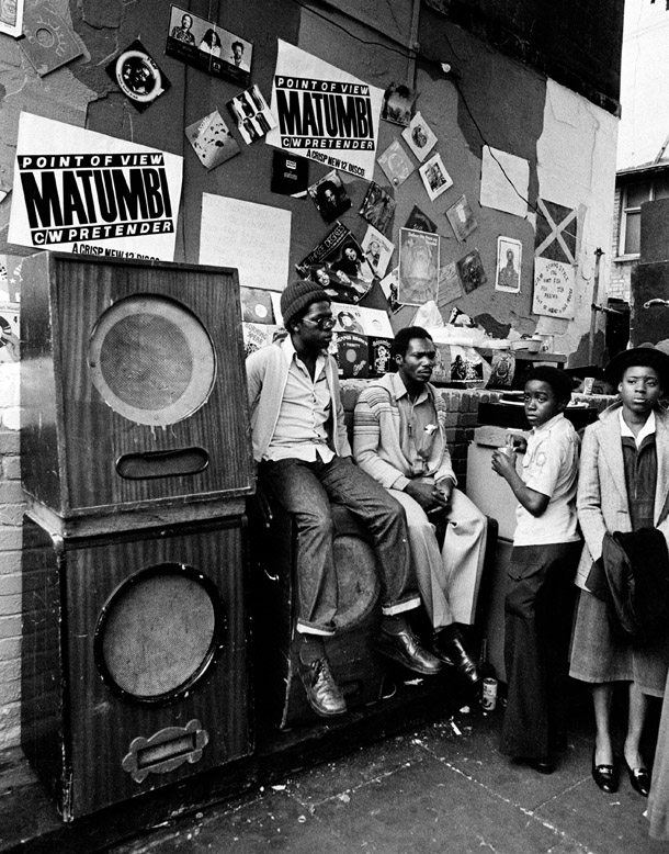 Dancing at a Notting Hill Carnival Sound System 1989 ©